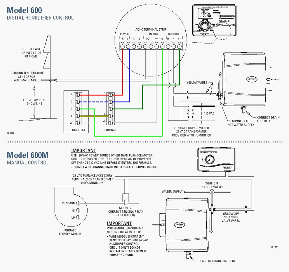 replacing a aprilaire model 56 humidistat with a model 60aprilaire 400 wiring diagram 17