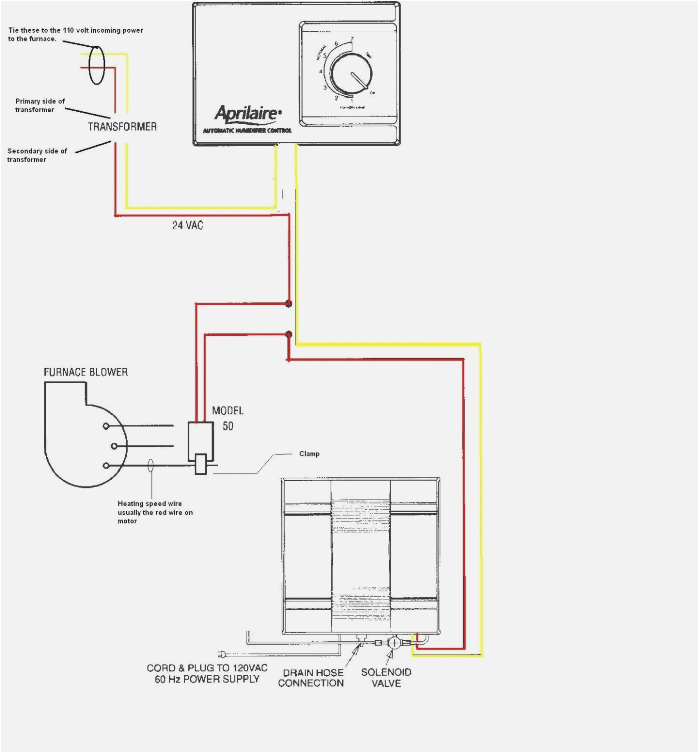 humidistat wiring diagram