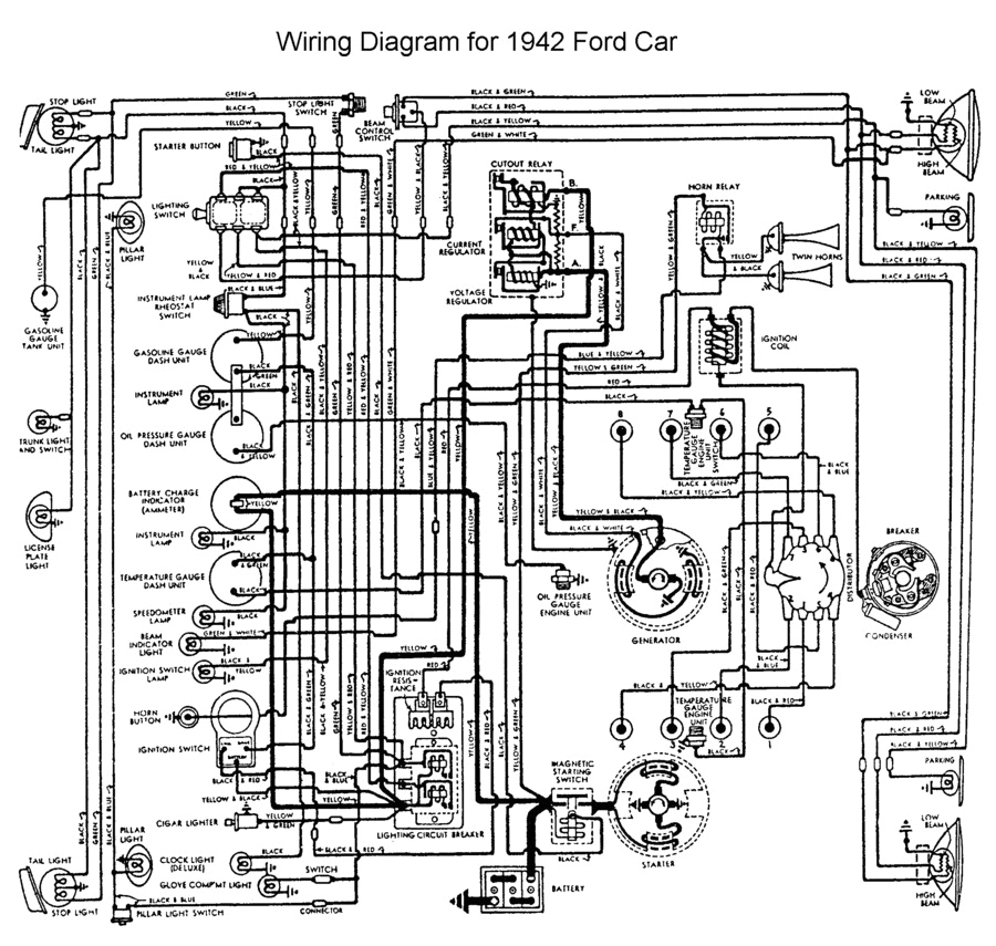 flathead electrical wiring1942car jpg