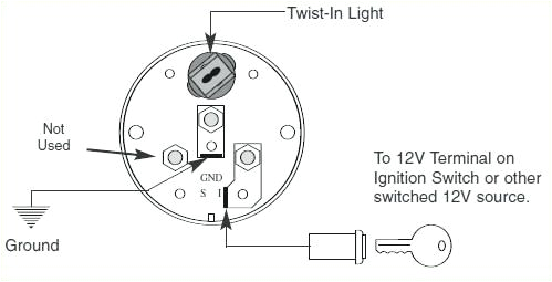 autometer gas gauge wiring diagram wiring diagram expert