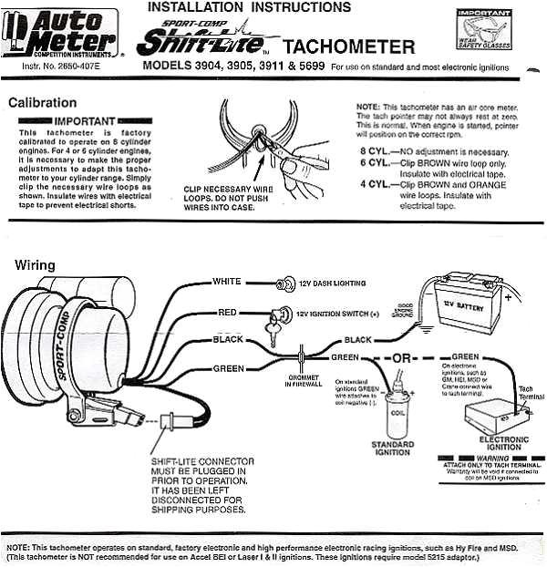 autometer tach wiring wiring diagram splitauto meter tach wiring wiring diagram perfomance autometer autogage tach wiring