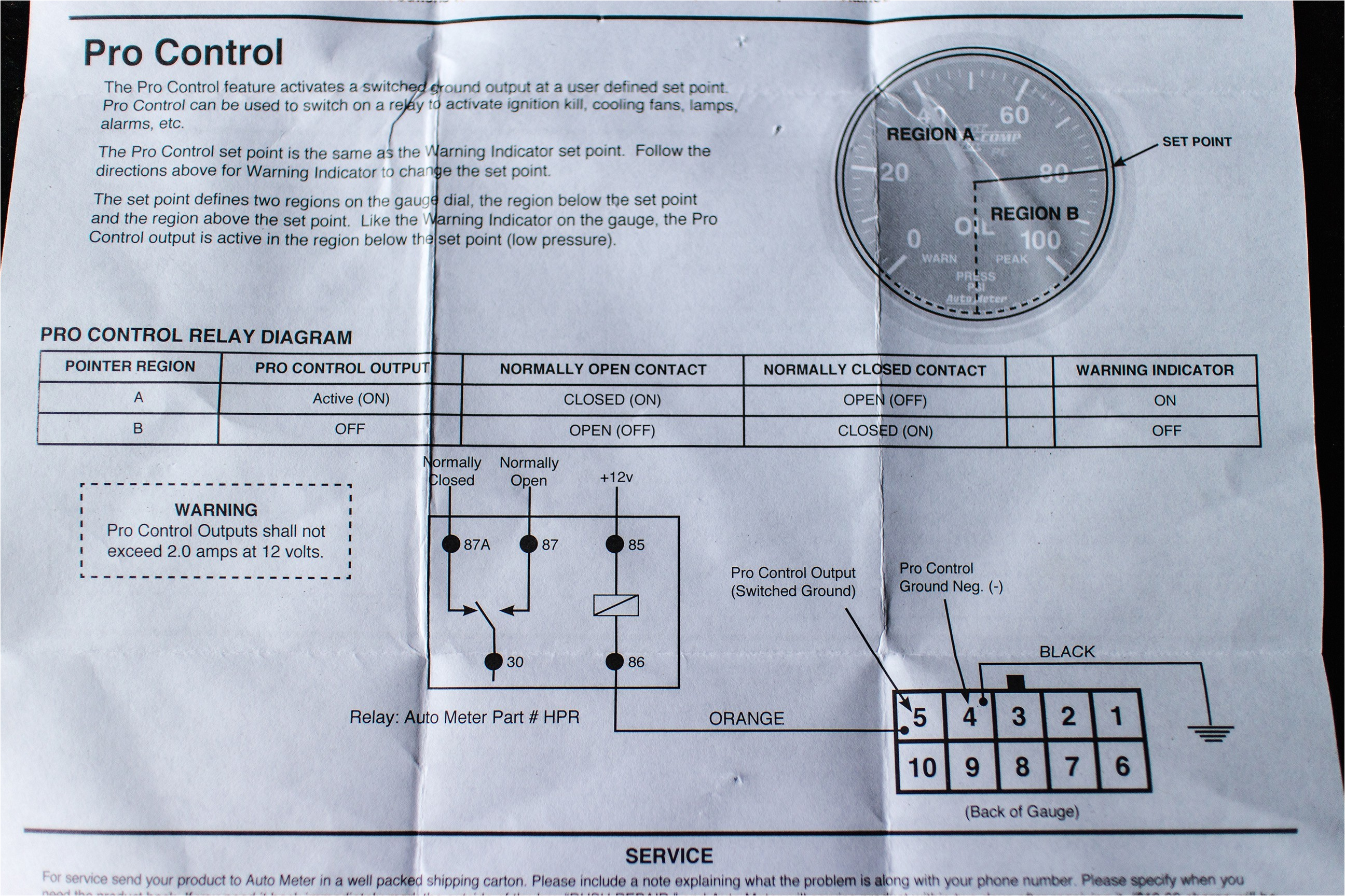 autometer pro comp tach wiring diagram awesome images for image wiregallery of autometer pro comp tach