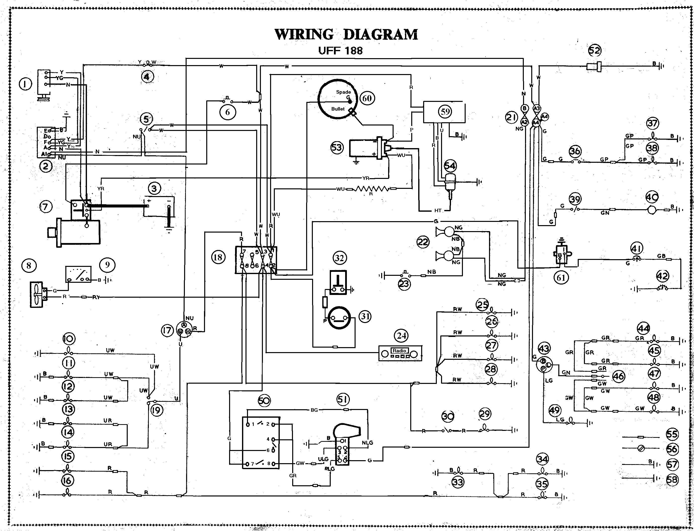 car wiring harness schematics