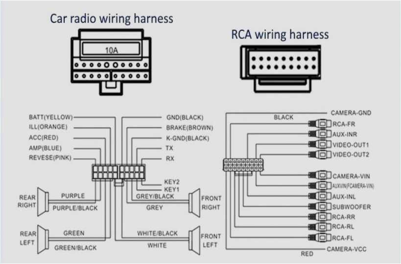 Avh P4400bh    Wiring       Diagram      autocardesign