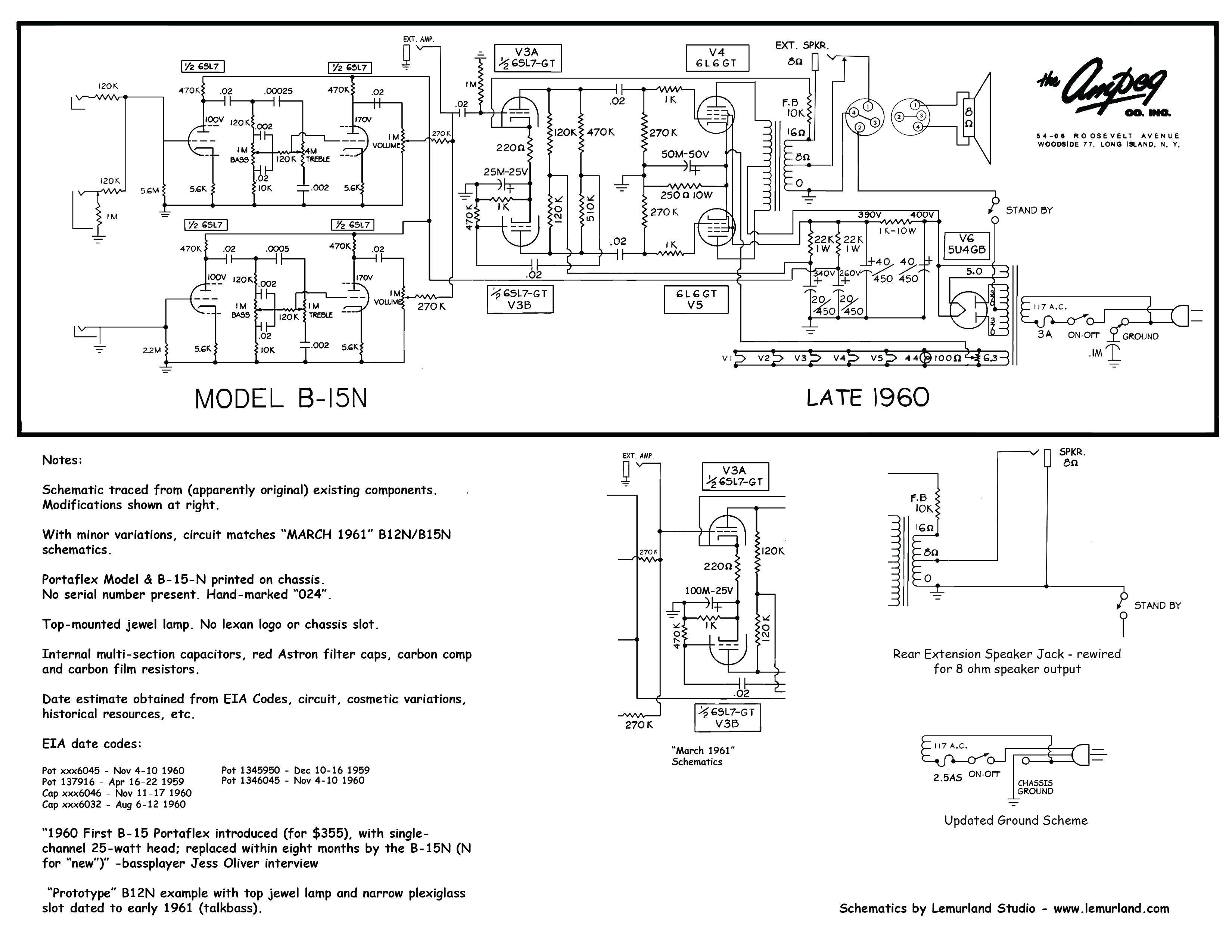 xlr plug schematic