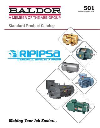 catalogo 501 motores baldor ripipsa