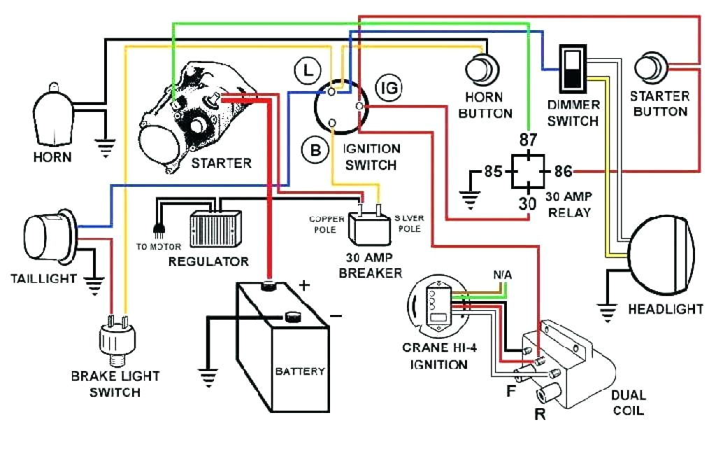 simple automotive electrical system electronic circuit schematic basic auto electrical system diagram