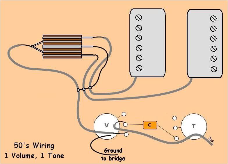 2 pu 1 volume 1 tone 3 way 50 s wiring