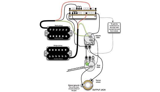 mod garage a flexible dual humbucker wiring scheme