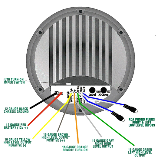 bazooka mobile audio tech wiring diagrams