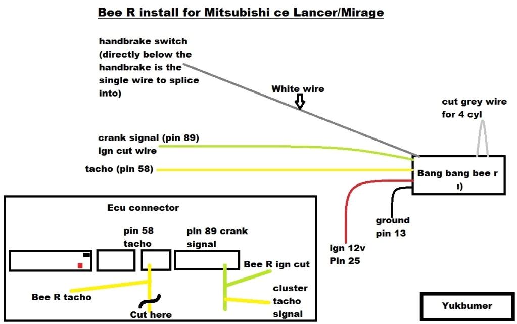 diy bee r limiter install wiring diagram bang bang auslancer bee r rev limiter