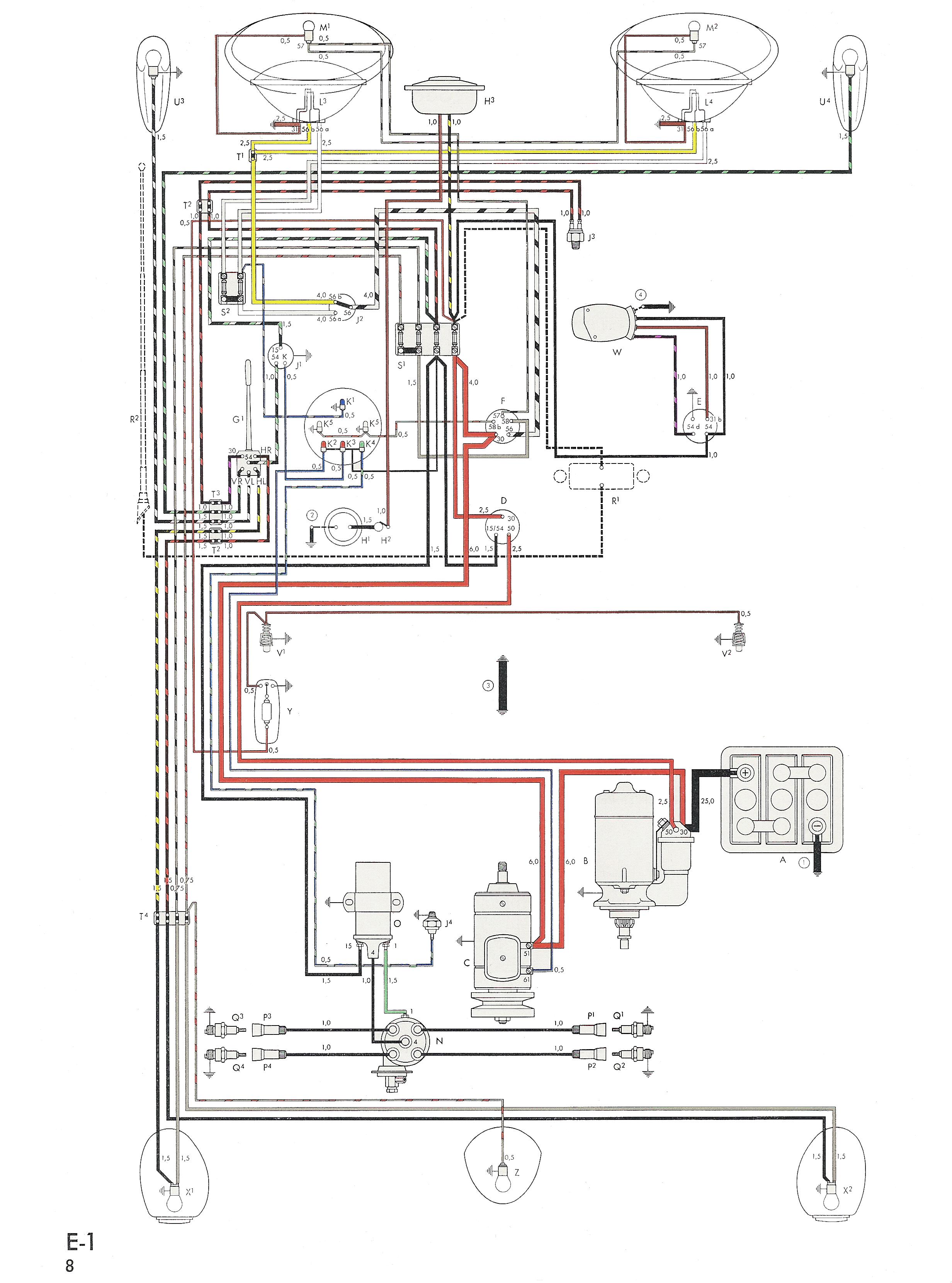 Beetle Wiring Diagram Baja Bug Wiring Diagram Wiring Diagram