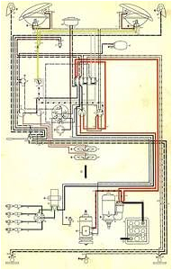 Beetle Wiring Diagram Vw Beetle Wiring Diagrams 62 65 Electric Wiring Diagram Sand