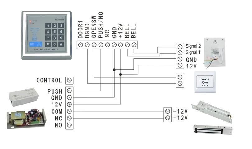 door entry phone wiring diagram luxury rfid access control sample in
