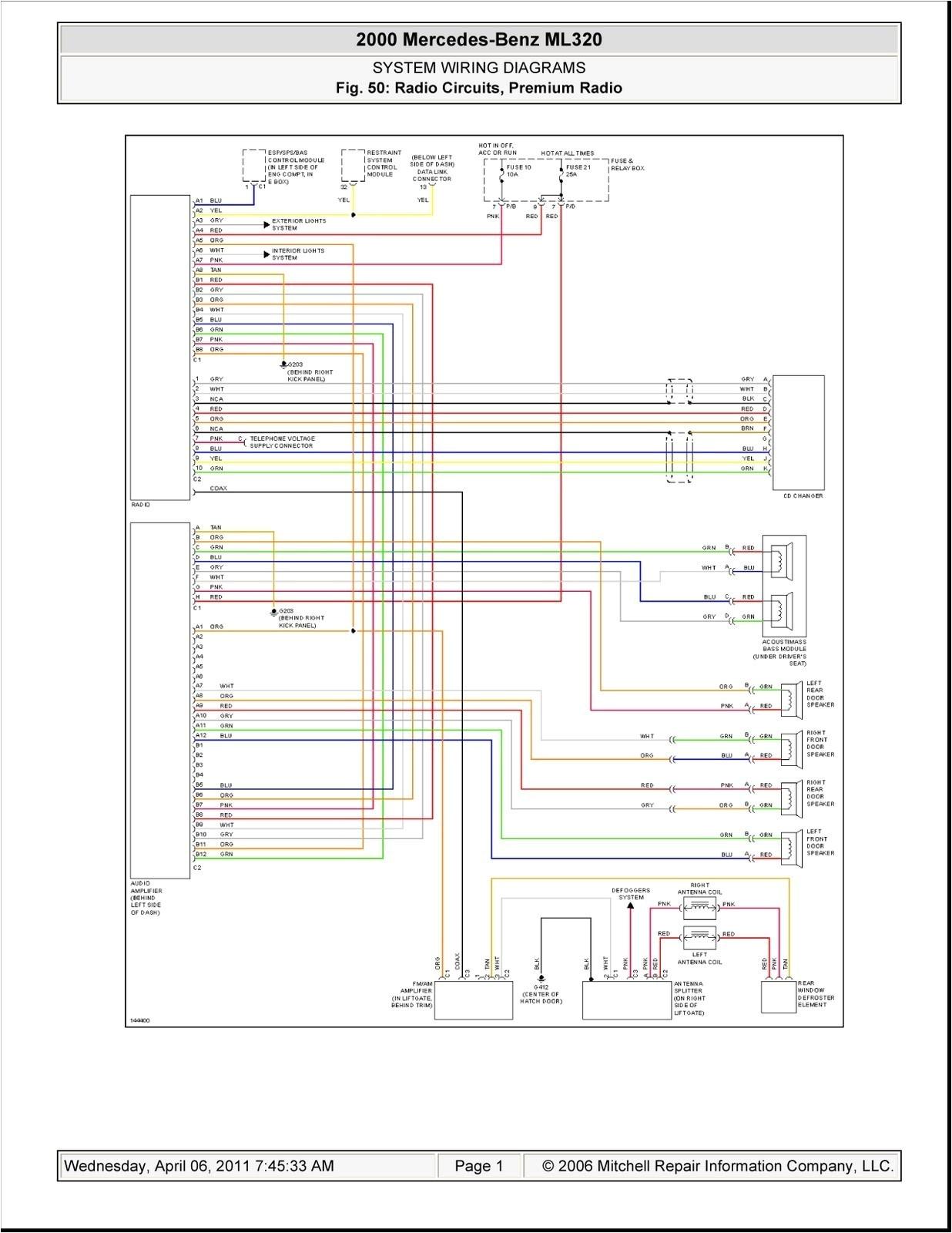 w163 wiring diagram wiring diagram datasourceml320 wiring diagram manual e book w163 headlight wiring diagram ml320