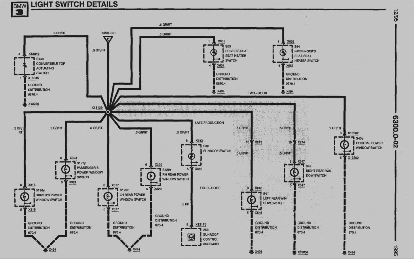 Bmw E36 Tail Light Wiring Diagram E36 Light Wiring Diagram Wiring Diagram Host