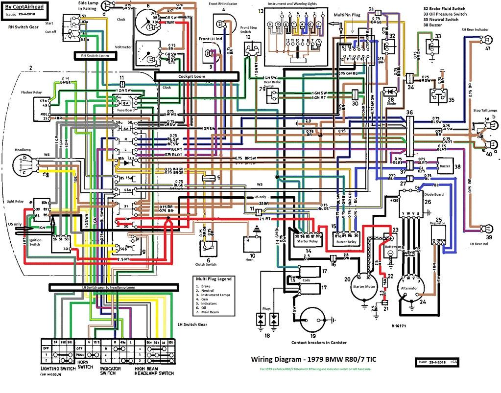 Bmw R80 Wiring Diagram Bmw Wire Diagram Wiring Diagram Technic