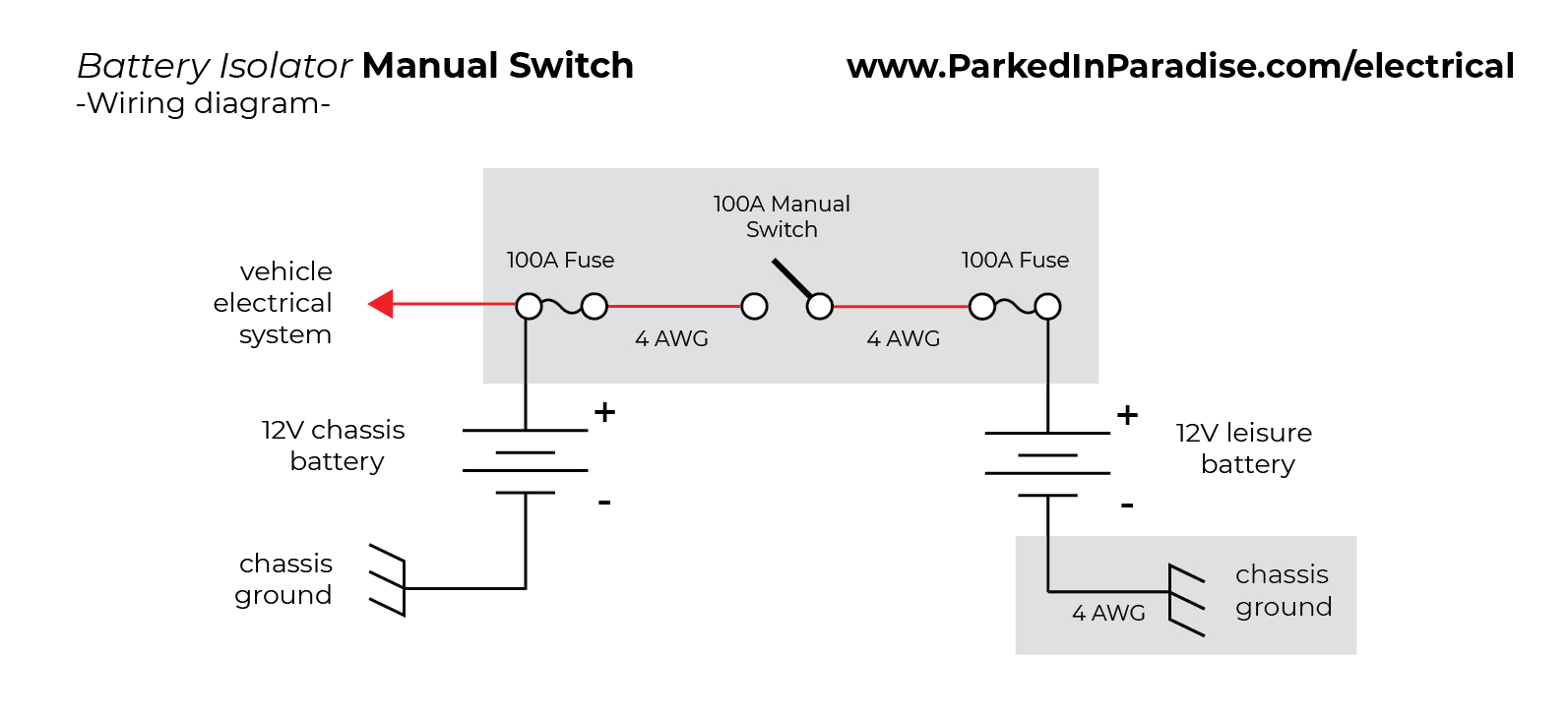 battery separator wiring diagram wiring diagram page mix how to install a battery isolator in your