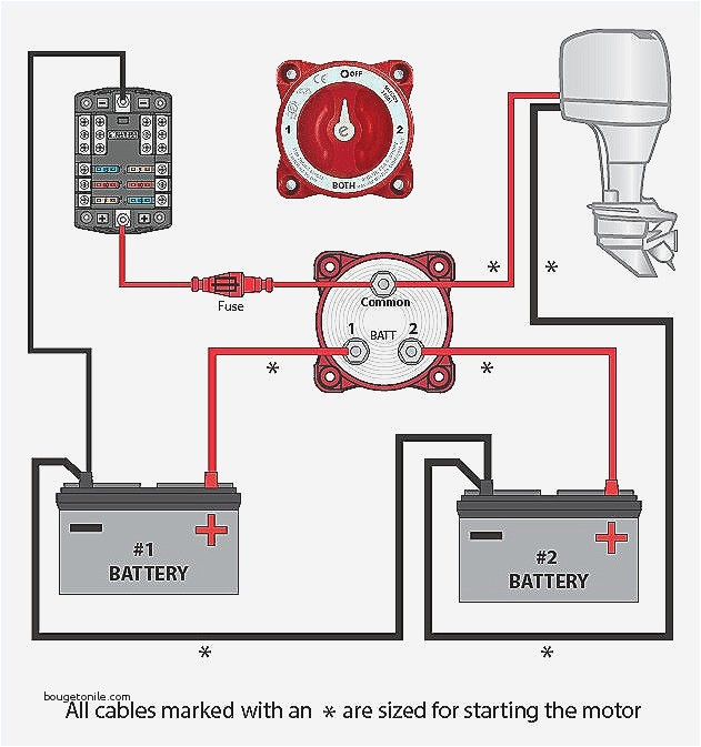 boat battery wiring diagram best of 60 best battery isolator wiring with switch installation
