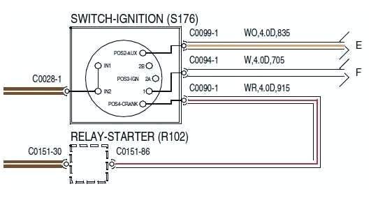 yamaha starter solenoid wiring diagramyamaha starter solenoid wiring diagram starter schematic yamaha outboard starter solenoid wiring