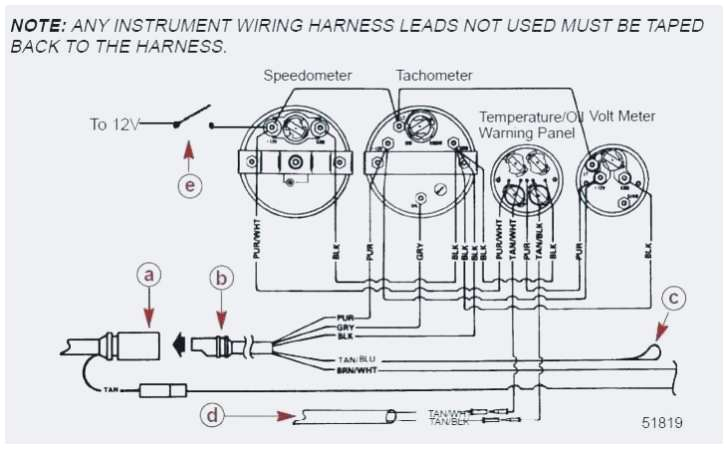 mercury outboard tachometer wiring harness wiring diagram expert yamaha outboard tachometer wiring diagram mercury tach wiring