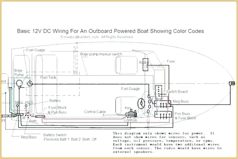 Boat Wiring Diagram Boat Schematics Wiring Diagram Centre
