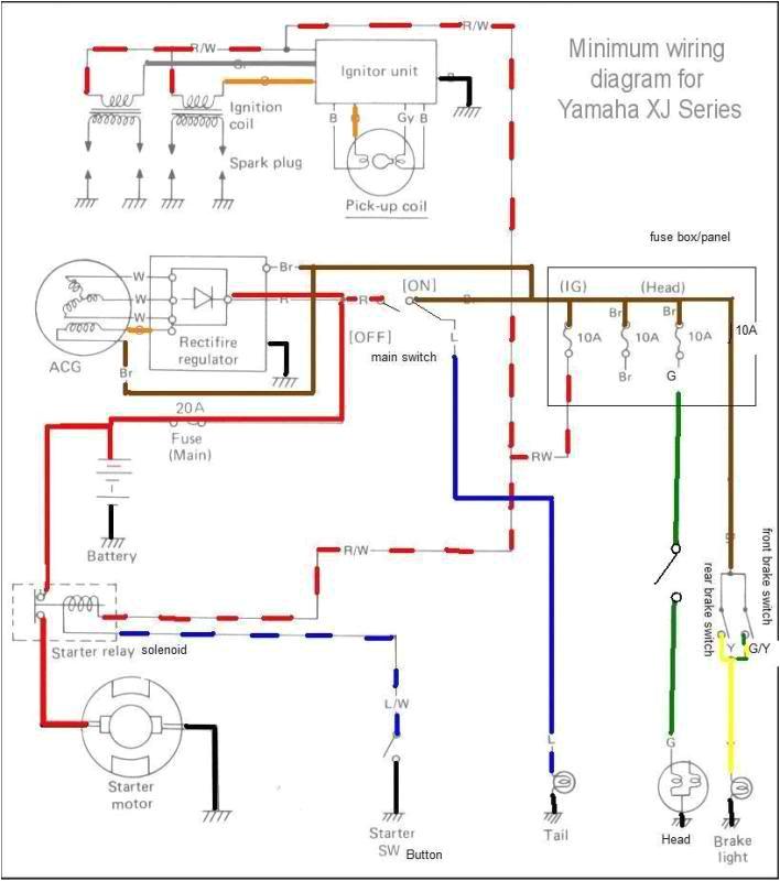 chopcult 81 yamaha xj 650 wiring help needed motorcycle 81 suzuki 650 wiring diagram