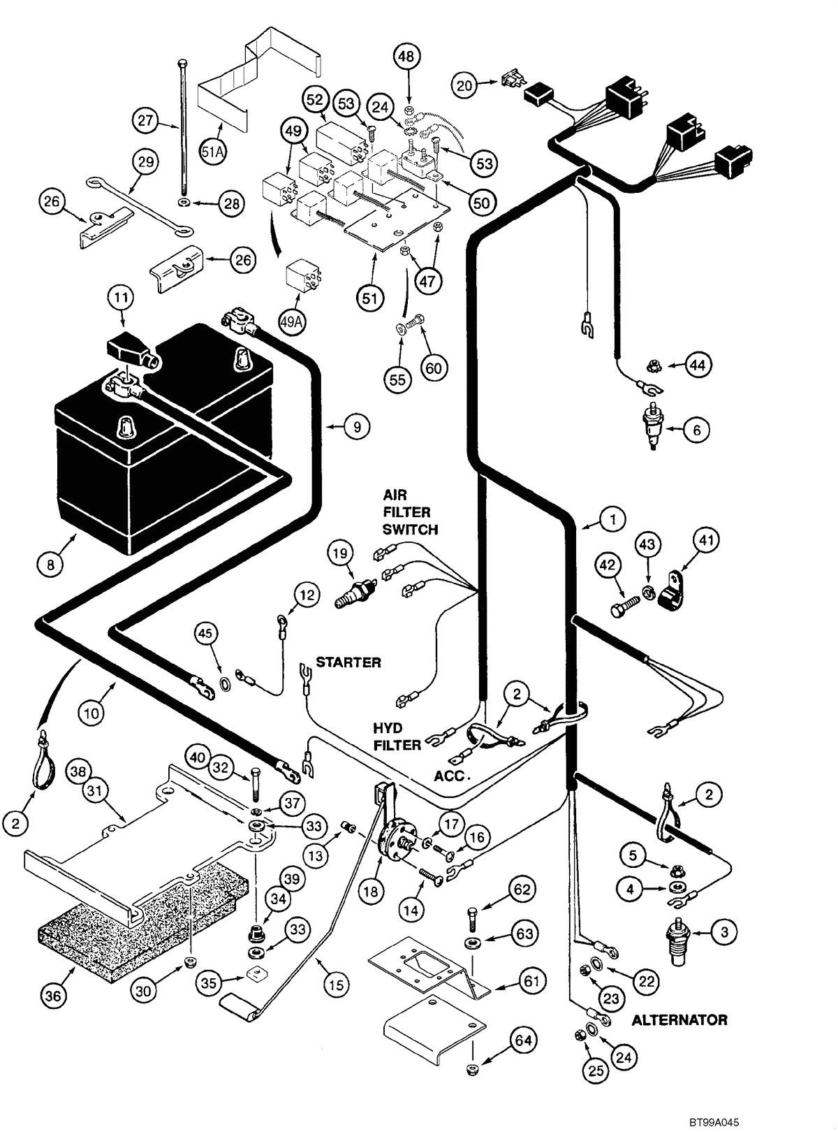 bobcat 763 wiring diagram wiring diagram database 763 bobcat starter wiring diagram
