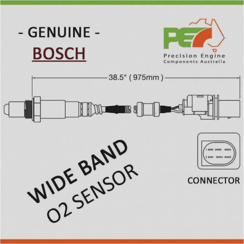 bosch 4 wire oxygen sensor wiring diagram lovely bosch o2 sensor 4 wire o2 diagram