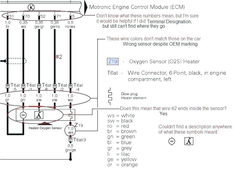 bosch o2 sensor wiring diagram 4 wire oxygen sensor wiring diagram new 5 at bosch 5