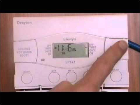British Gas Up2 Wiring Diagram Drayton Lp522 Boiler Programmer Youtube