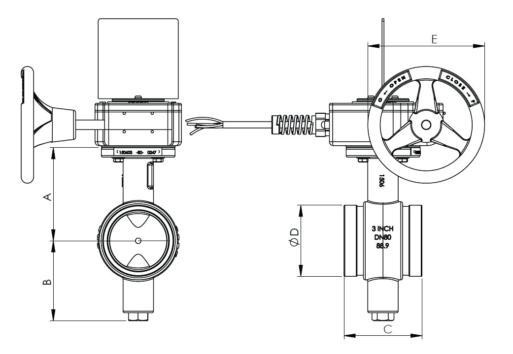 butterfly valve diagram u2013 shopnext cobutterfly valves grooved dims valve diagram tyco wiring