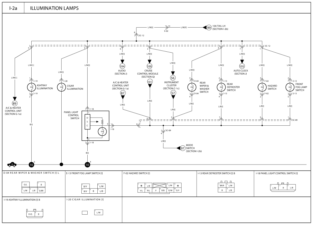repair guides wiring diagrams wiring diagrams 20 of 30 cigar lighter wiring diagram 2007 kia optima