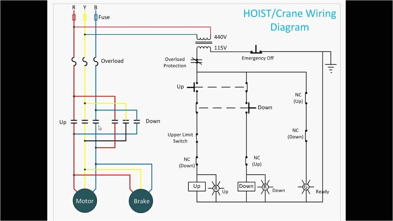 hoist control circuit