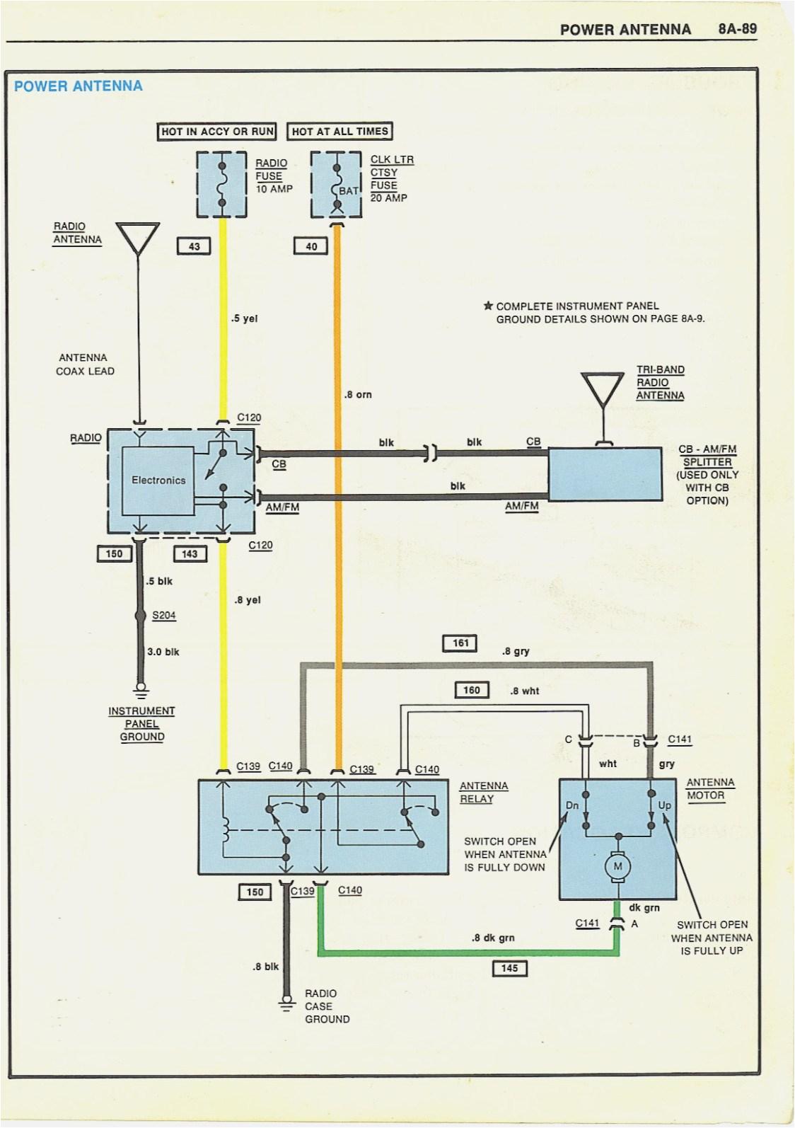 antenna 2wire wiring diagram wiring diagram 1988 camaro antenna wiring diagram wiring diagram expertpower antenna wiring