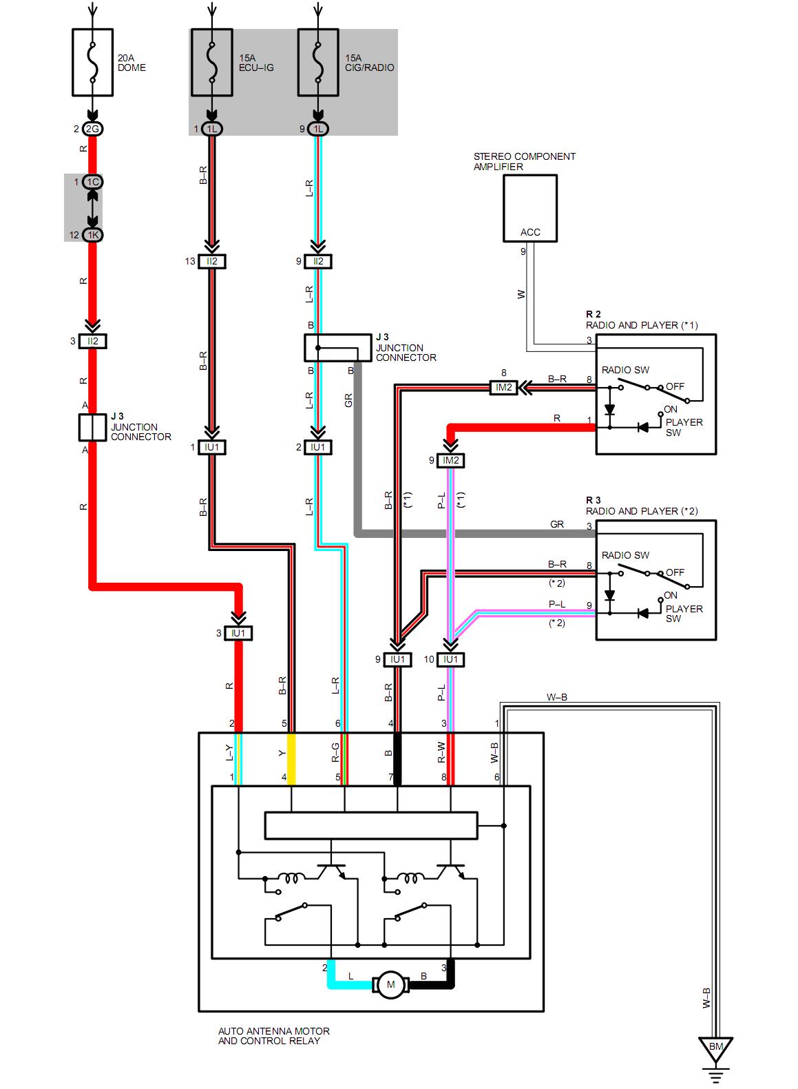 buick power antenna wiring diagram wiring diagram split buick power antenna wiring diagram