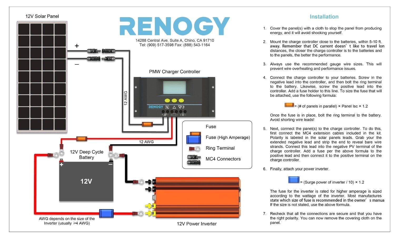 diy solar panel system wiring diagram volovets info