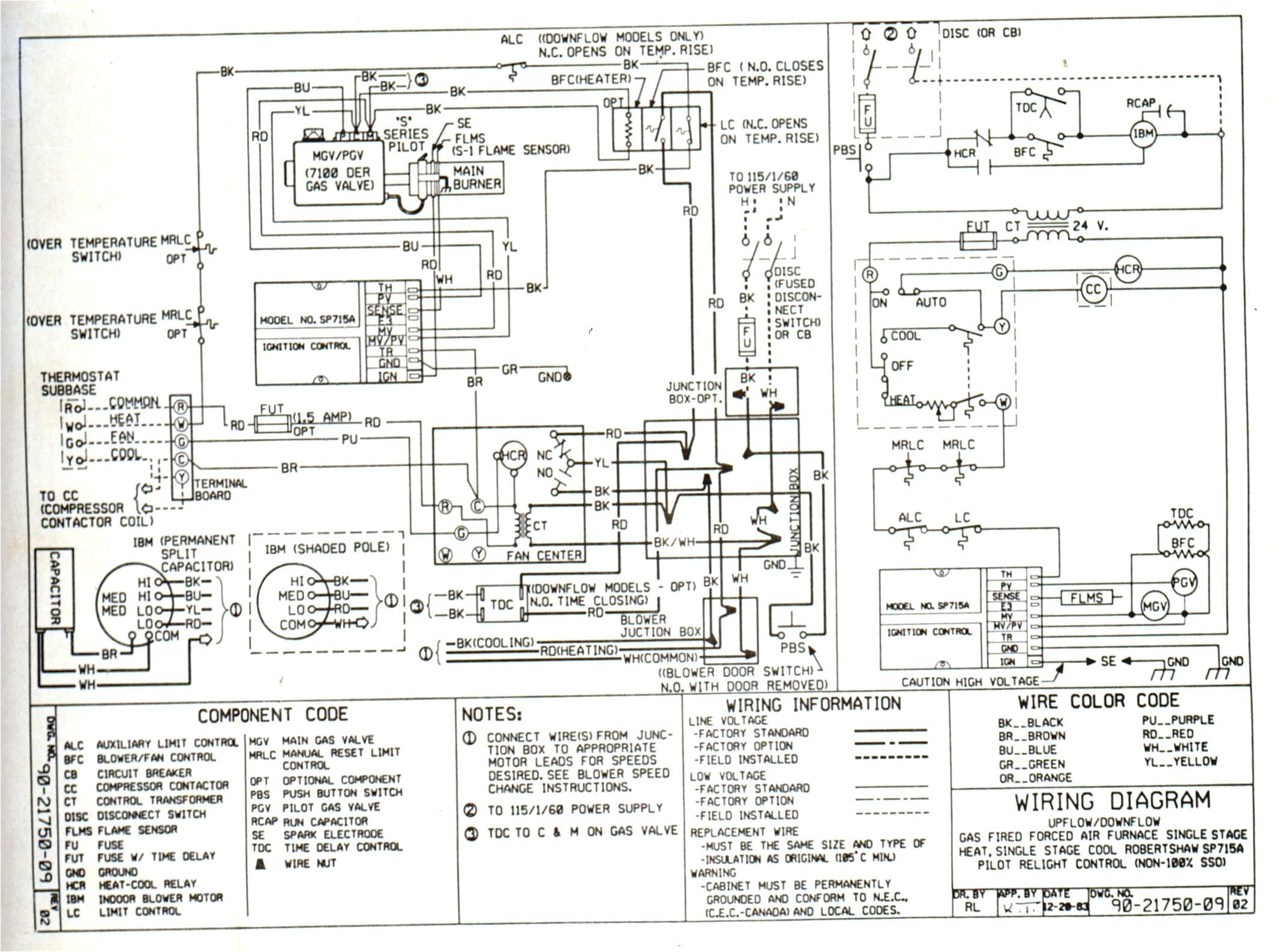 comfortmaker heat pump wiring diagram wiring diagram schematic comfortmaker furnace forced air wiring diagram