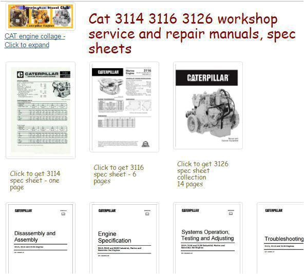 cat 3126 engine parts diagram wiring diagram list cat 3114 3116 3126 engine manuals and spec