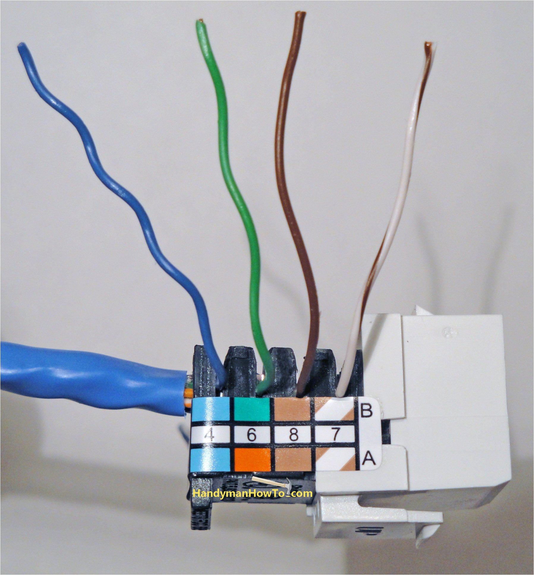 how to install an ethernet jack for a home network cee tech ethernet plate diagram