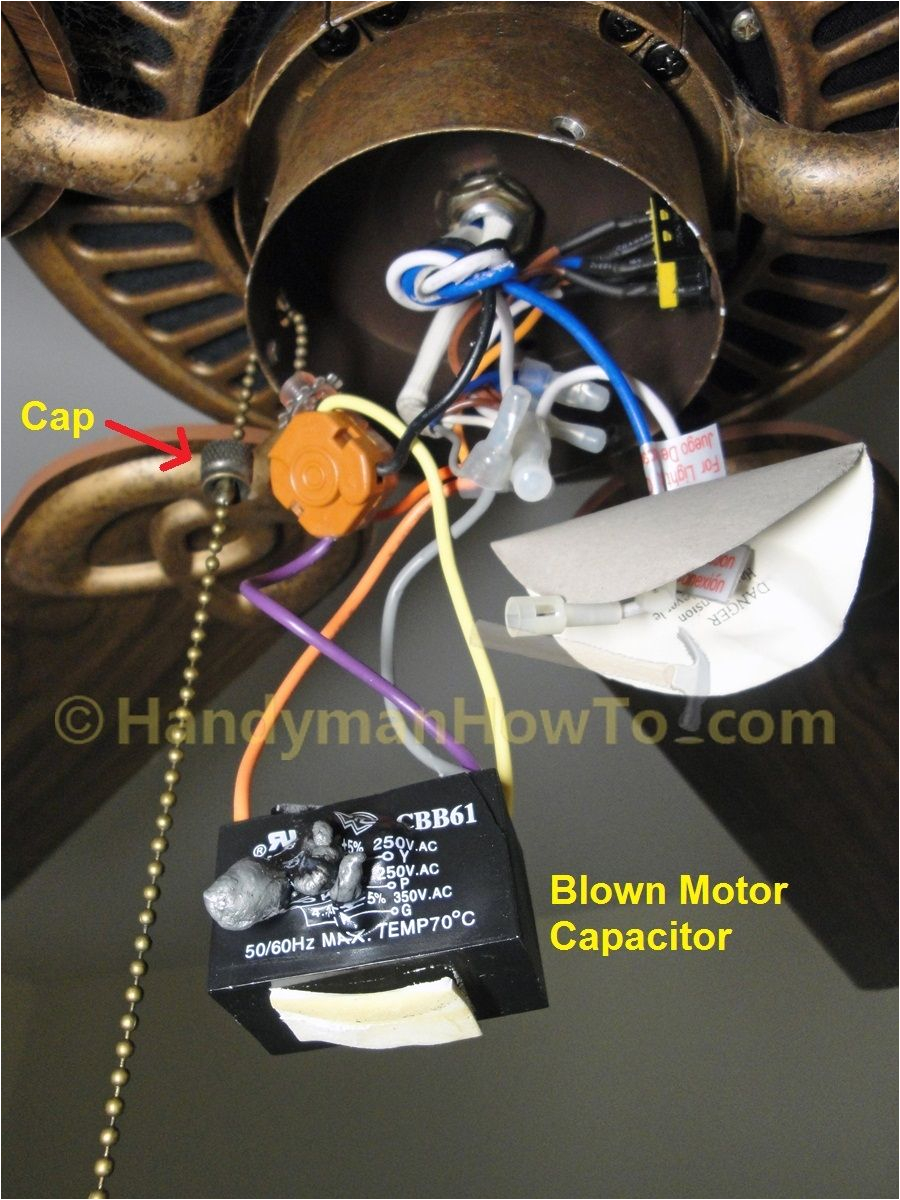 ceiling fan light pull switch wiring diagram