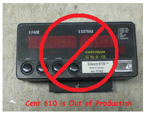 centrodyne 610 meter this meter is now out of production use cent s700 or pulsar 2030 instead