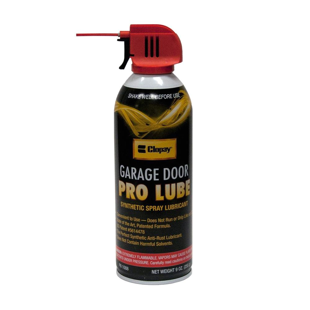 synthetic pro lube for garage doors