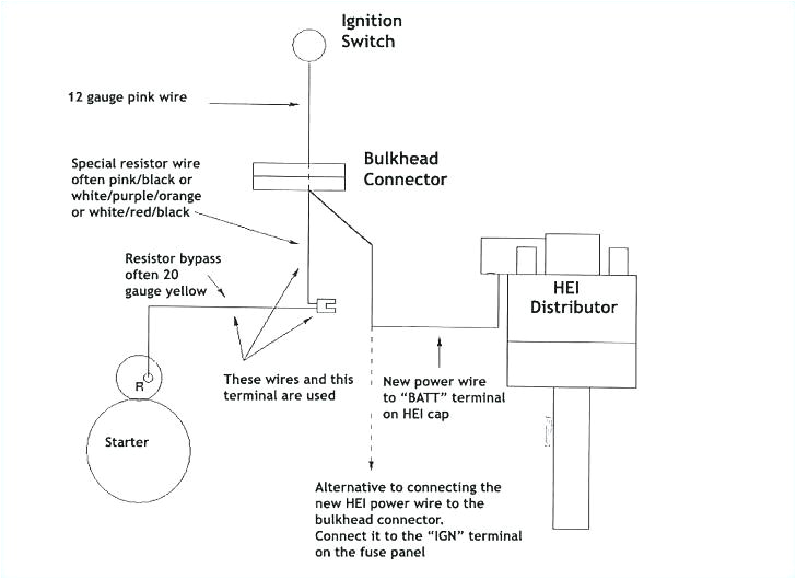 hei distributor wiring diagram luxury bosch electronic distributor chevy electronic ignition wiring diagram