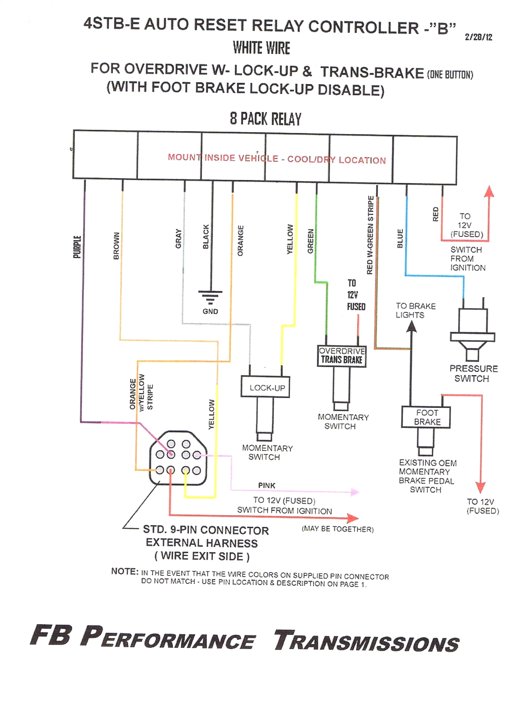 th400 wiring harness diagram