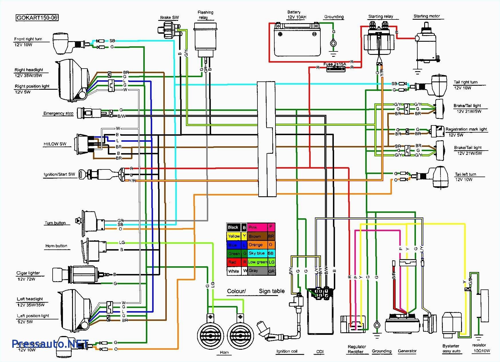 49cc atv wiring diagram