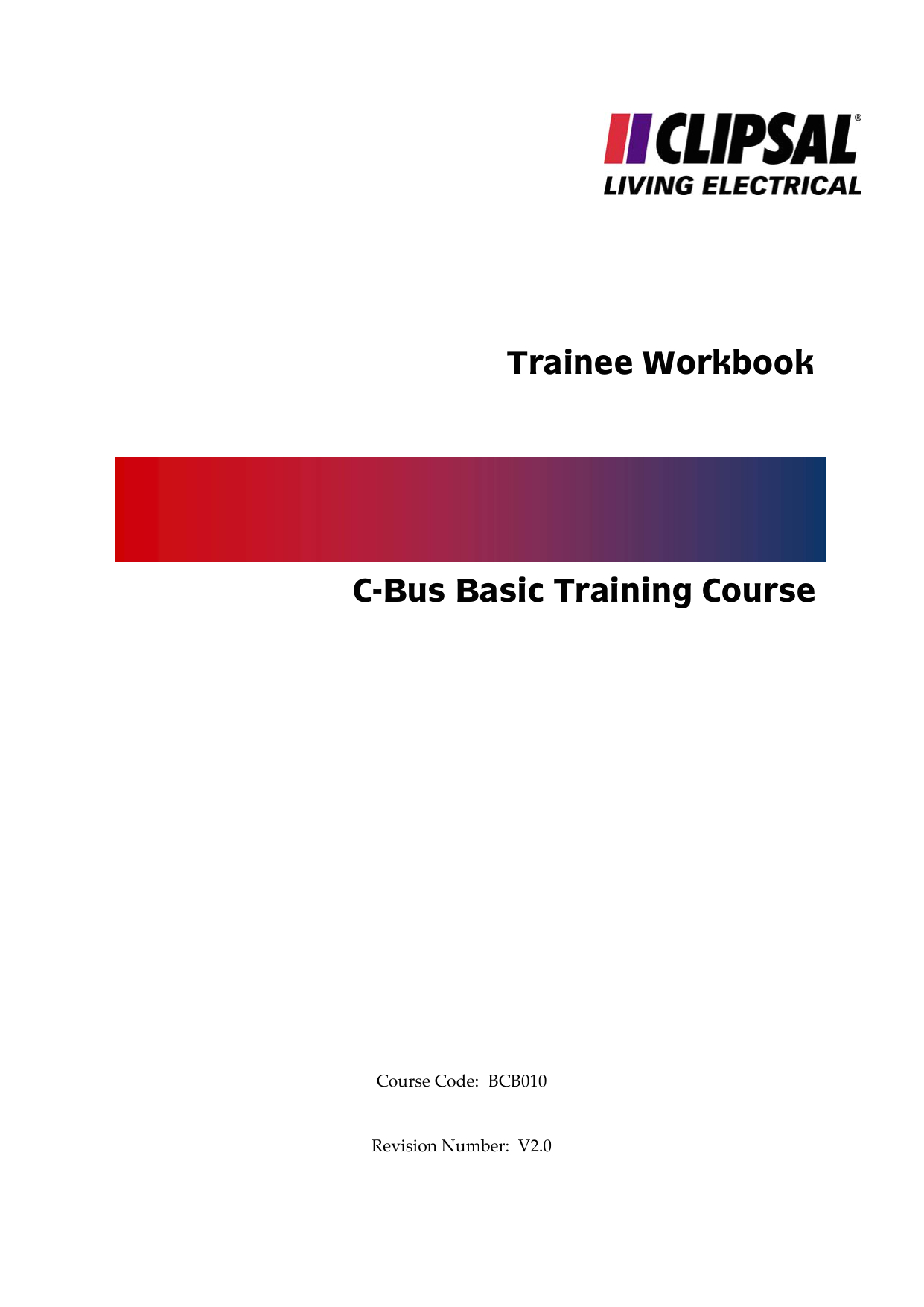 trainee workbook c bus basic training course