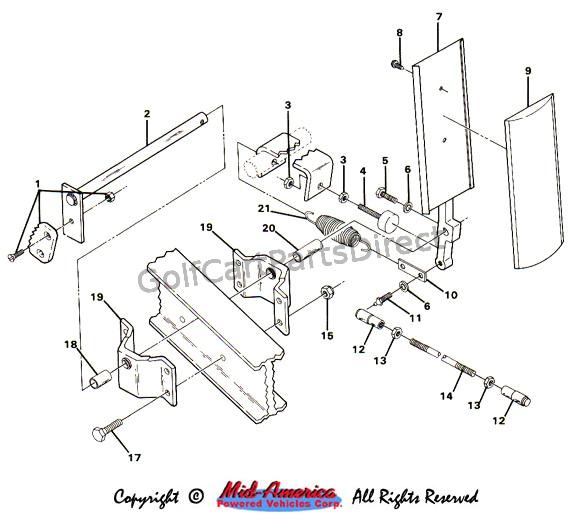 Club Car Ds Gas Wiring Diagram 1984 1991 Club Car Ds Electric Golfcartpartsdirect