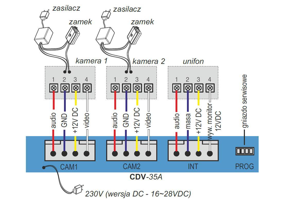 cdv 35a cdv 35a dc opis za a czy w monitorze wideodomofonowych