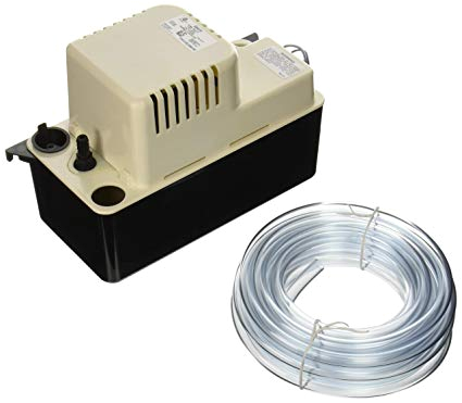amazon com little giant 554415 65 gph 115v automatic condensate removal pump with safety switch and 20ft tubing home improvement